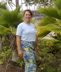 Picture of Carla in Hawaii