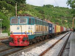E655.056 (mikelets84) Tags: merci cargo stazione treno trieste tec ferrovia grignano 056 caimano e655 xmpr