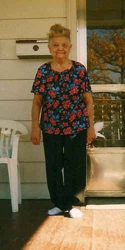 Grandma Josephine T. Kwit. 1921 - 2009. Photographed in Elmwood Park Illinois, in October of 2003. by Eddie from Chicago