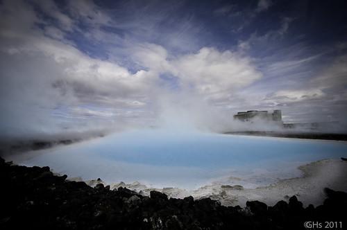 maí vor bluelagoon 2011 suðurland hitaveita dagsferð