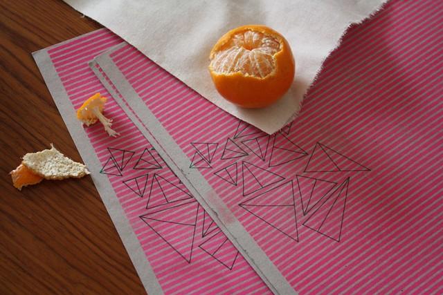 Mandarines & Print