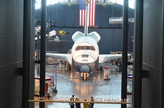 Steven F. Udvar-Hazy Center: Space Shuttle Ent...