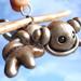Silver Sal Angle Robot Hanging Ornament