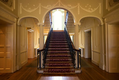 Staircase (Paul O' Connell) Tags: old up canon vintage way photography hotel design hall stair decoration entrance style grand hallway staircase canon5d elegant enter luxury exclusive ascend countryhouse prestige decend pauloconnell irishphotographer