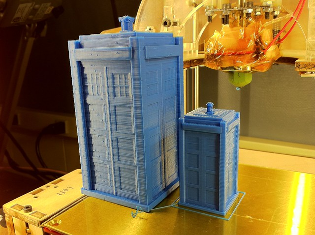 TARDIS and mini-TARDIS