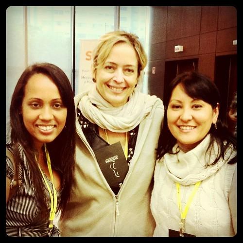 Encontrinhos do #smb2011 @missmoura @vanguarda e eu ;-)