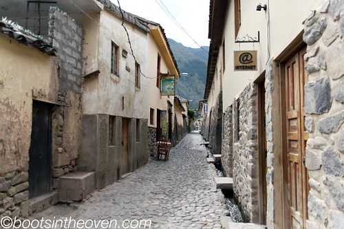 Ollantaytambo's ridiculously picturesque streets