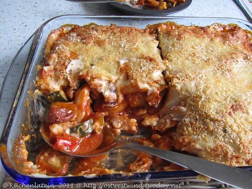 Käse & Gemüse-Nudelauflauf 001