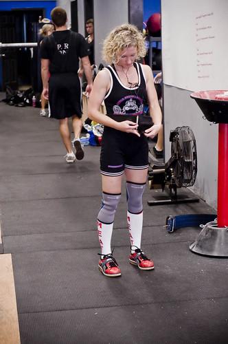 female weightlifting powerlifting