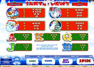 free Santa Paws slot mini symbol