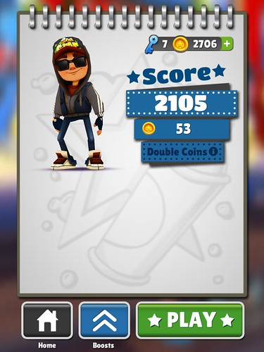 Subway Surfers End-game: screenshots, UI