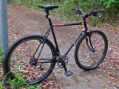 Surly Cross Check, Nara, Japan. (kinkicycle.com) Tags: japan japanese cycling check cross bicycles nara custom surly
