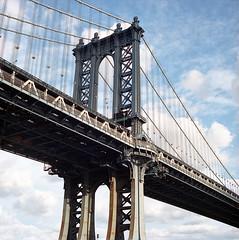 (eyepenn) Tags: manhattanbridge newyork hasselblad500c kodakportra400