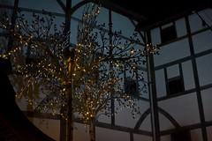 2016-09-04: Light Tree (psyxjaw) Tags: london londonist fire londonsburning model greatfire greatfireoflondon art installation river thames crowd globe theatre