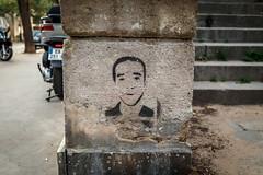 Montmartre, Paris (john.gillespie) Tags: france writing 2016 september bolangerie summer stencil beautiful paris montmartre francias vsco tourists street art writer tourism mishima author streetart japanese japa
