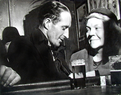 Lisette Model, Bars, Sammy's Bar, Woman Looking at Man, 1944