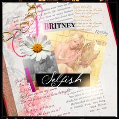 Selfish - Britney Spears (Joshie.yeye) Tags: spears femme tracks bonus britney fatale joshtings joshieyeye