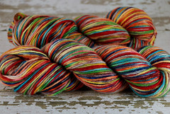 """Rainbow Boy"" AB BFL (DK/Light Worsted)"