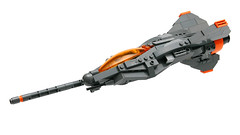T-22 Saberdart (Brainbikerider) Tags: lego space dart spacecraft moc starfighter foitsop