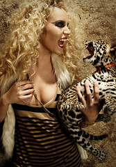 FAUX FUR & BABY JAGUAR - ALEXANDRIA from America's Next Top Model cycle 16