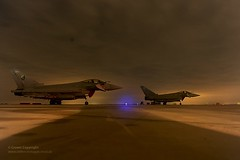 RAF Typhoon Aircraft Following Their First Operational Mission Over Libya (Defence Images) Tags: uk italy fighter aircraft military jet free equipment eurofighter british f2 libya defensive defense defence typhoon raf royalairforce noflyzone opellamy