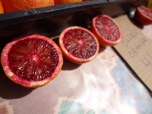 Blood oranges, Oceanside Farmer's Market - San Diego, 3.24.11