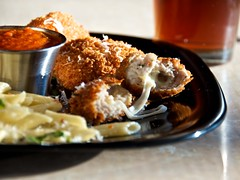Chicken Parmesan Nuggets (djwtwo) Tags: chicken cooking cheese recipe nikon mozzarella frying panko chickennugget chickenparmesan afsdxvrzoomnikkor18200mmf3556gifedii