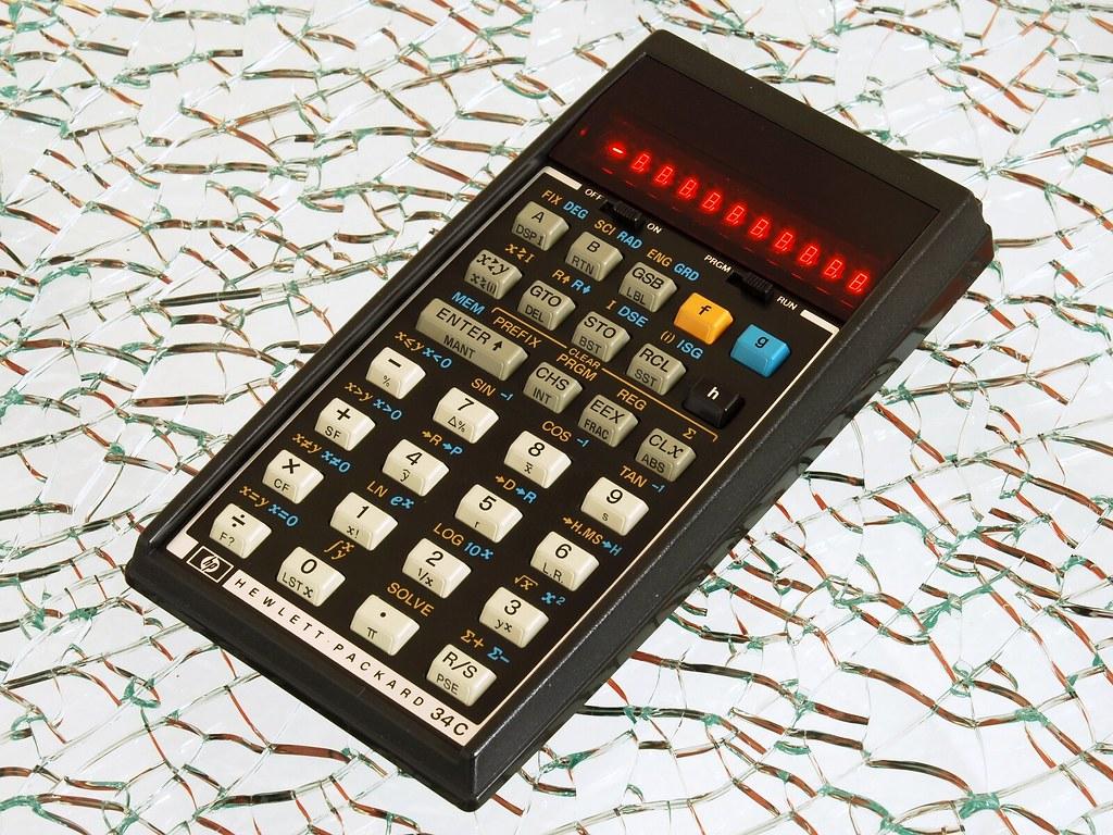 HP-34C Scientific Calculator