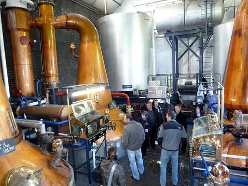 Distillation at Tullibardine