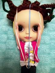 Maeby's escape attempt (*phillaine*) Tags: doll galleries blythe freckles drake custom ashton matte maeby adg phillaine