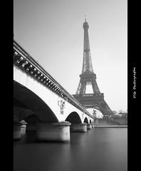 Eiffel tower (J P   Photography) Tags: blackandwhite bw white black paris france tower french nikon noir tour noiretblanc eiffeltower eiffel nb jp pont capitale nikkor dame blanc français hdr fer pontdiena photographe iena damedefer pontiena jpphotography d3100 djpig91