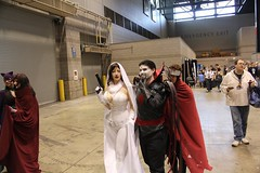 Wiccan Photobombing (BelleChere) Tags: chicago costume comic cosplay ghost marvel wiccan darkhorse c2e2 mistersinister