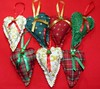 Coração Natalino (Atelier Maria Bonita) Tags: enfeitedemaçaneta natalcoraçãonatalino