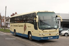 East Yorkshire 55, A8EYC. (EYBusman) Tags: road bus ford volvo coach yorkshire east motor hull panther services coaches bridlington richardson paragon diplomat plaxton eyms b12b hilderthorpe a8eyc eybusman yx55fva