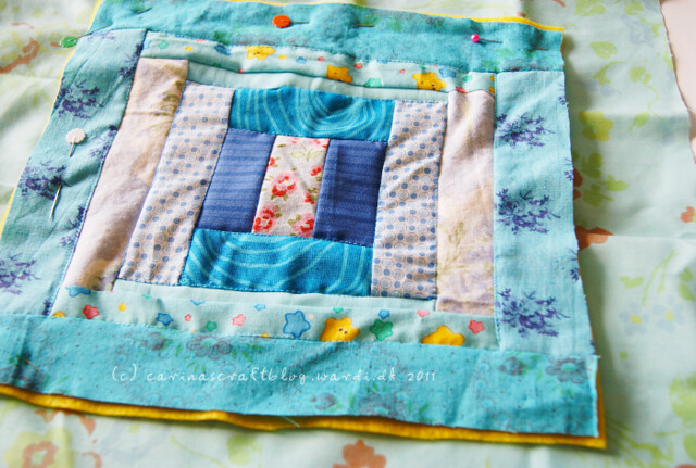 Tutorial: quilt self binding step 1