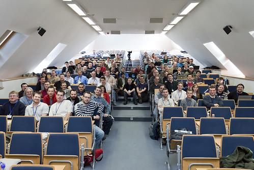 A konferencia hallgatósága (fotó: TeeCee)