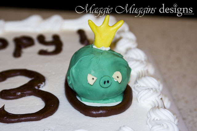Angry Birds Cake & Cake Pop