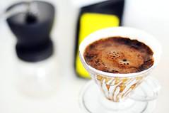 Oriole Coffee Roasters' Ethiopian Harrar + Hario V60