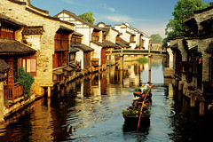 The Water Town of Wuzhen - China's Venice     (Meiguoxing) Tags: china water town  wuzhen zhejiang