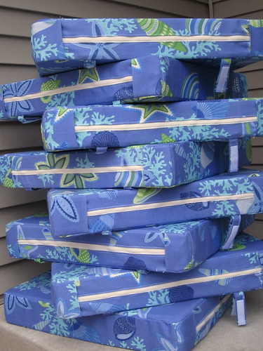 cushions - stack b