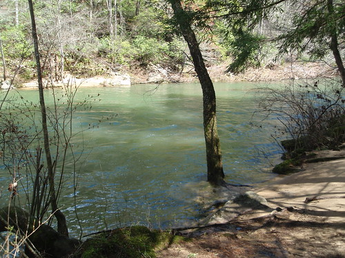 the gentlemen's swimming hole