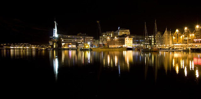 tromso by night