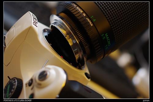 [教學分享]Pentax k-x 使用M42老鏡教學