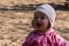 What? (Daniel Kulinski) Tags: sky baby sun girl kid spring toddler warm day dof bright image 10 walk evil samsung babe ten natasha nx samsungimaging nx10 samsungnx10 gettypoland1