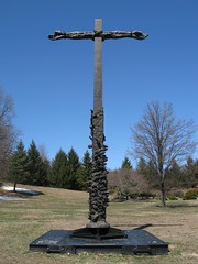 Reconciliation Cross (Loci Lenar) Tags: new sculpture news photography interestingness catholic cross image rss nj images blogs bloglines feed christianity feeds bronzesculpture bluearmyshrine washingtonnj worldapostolateoffatima reconciliationcross