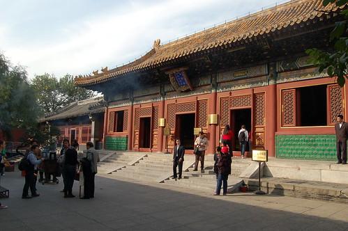 Vorplatz der Yonghe Dong Halle