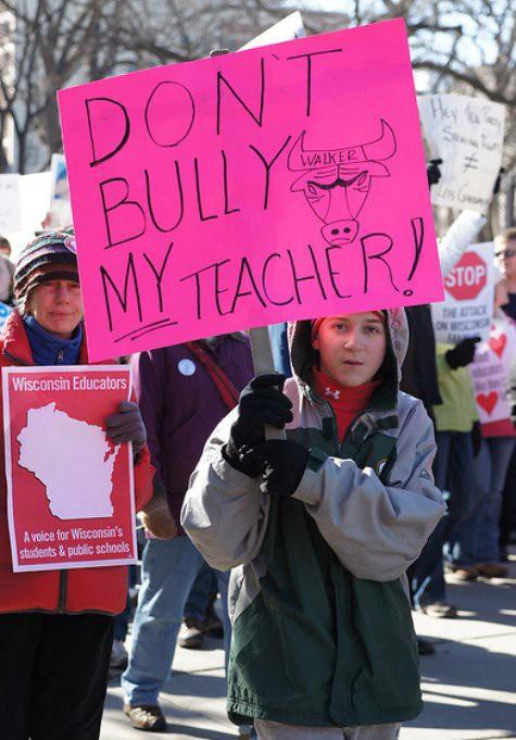 Don't Bully My Teacher!