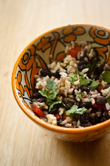 Rice and Black Bean Salad (1 of 1)