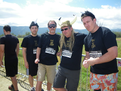 Warrior Dash - Blue Steel