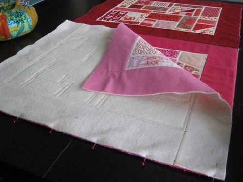 Piecing with Quilt As You Go